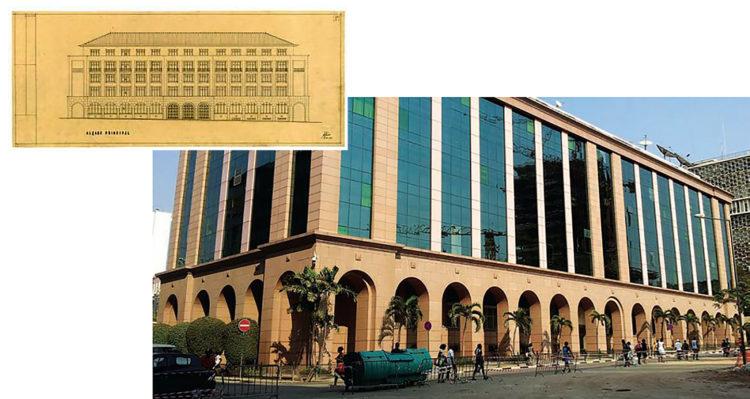 Edifício sofreu várias modificações ao longo dos tempos