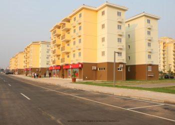 Um dos projectos habitacionais emblemáticos é a centralidade do Kilamba