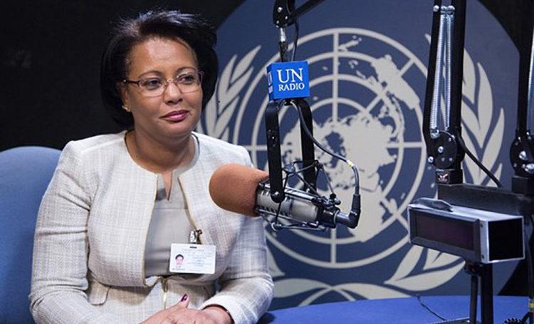 Ana Paula de Carvalho, Ministra do Ordenamento do Território e Habitação (FOTO Daniela Gross / ONU)