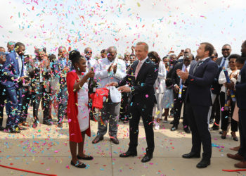 PCA e PCE do Grupo Boa Vida inauguraram o Condomínio 2 da UBVUrbanização Boa Vida (Foto: Njoi Fontes)
