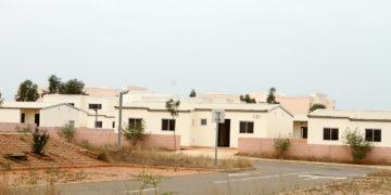 Casas da Urbanização Zango Oito Mil (Foto Eduardo Pedro / JAIMAGENS)