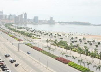 Vista da Baía de Luanda