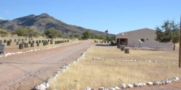 Terreno com exploração turística na província do Namibe (Rafael Tati / JAIMAGENS)