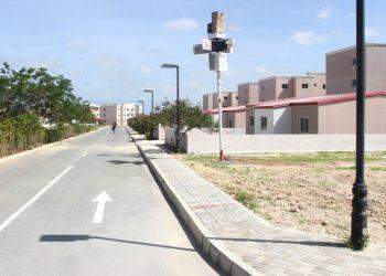 A nova centralidade do Luhongo, no município da Catumbela, começou a ser construída em 2012