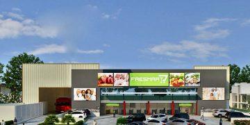 Rede de supermercados Freshmart, do Grupo Newaco, Distribui alimentos congelados