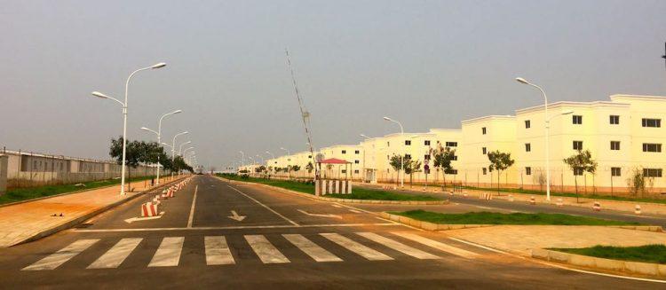 Centralidade Zango 5, a Sul de Luanda