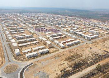 Centralidade da Caála, no Huambo, construída pela empresa Kora Angola