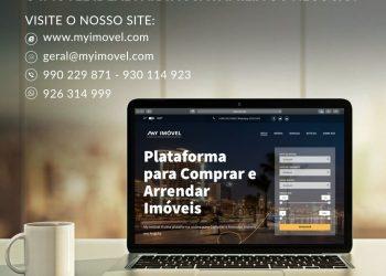 Site da imobiliária My Imóvel na Internet