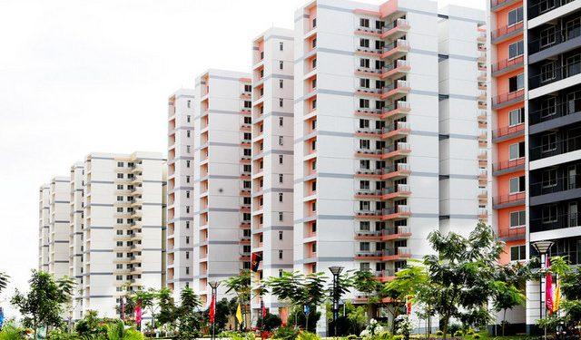 Apartamentos do condomínio Vida Pacífica, na centralidade Zango 0